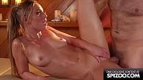 Deep Oil Massage Fuck With All Natural Slut Aidra Fox