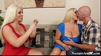 Alura Jenson & Karen Fisher Sexy Threesome - Fa...