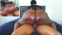 Ebony BBW MAID Needs To Get Pregnant | Clip