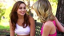 Petite Teens Ar iana Marie and Kota Sky Lesbia Kota Sky Lesbian Affair