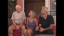 Horny Housewife Swings For First Time video
