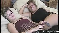 Jessie loves when Carmen wears stockings