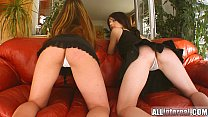 All Internal Two tight teen pussies banged and eaten out