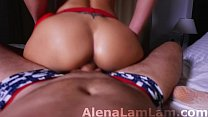 Blonde Deepthroat and Big Ass Cowgirl  on Big Dick صورة