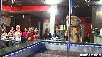 Dancing Bear Blowjob Party At The Stripper Club thumbnail