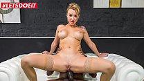 LETSDOEIT - #Elen Million - Hot BBC Anal Pounding For Sexy Russian MILF