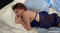 Russian POV Pornstar Marina Visconti Sucks Huge Dick And Sways Her Tits