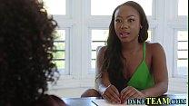 Ebony milf tastes vag thumbnail