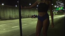 Teen is exhibited within the city tunnel and had oral sex. (Full video in red xvideos.)