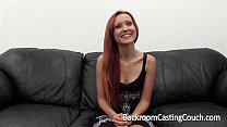 Incredible Redhead First Ass Fuck & Anal Creampie Casting Preview