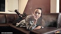 German smoking girl - Janina 4 Trailer Vorschaubild