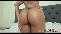 Cute Black Tiny Teen With A Great Ass Arie Faye...