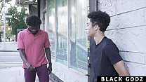 BlackGodz - Black God Pounds A Newcomer's TIght Asshole