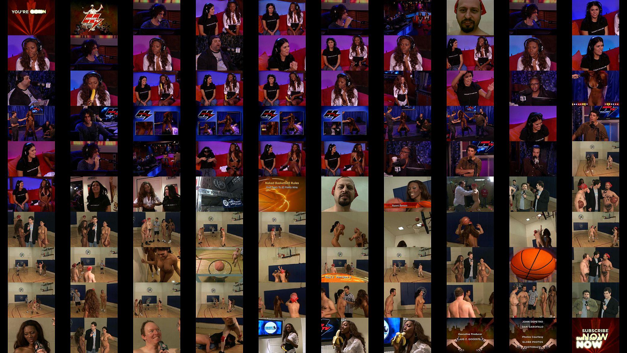 Howard Stern Naked Girls sexy naked basketball 2 on 2 howard stern - xvideos