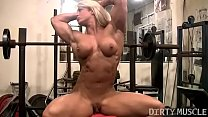 Female Bodybuilder Lisa Cross Naked Workout