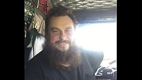 The phantom trucker in cab spanking video