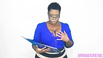 An Open Mouth Policy | Natural Ebony BBW Preview