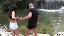 PORNOVATAS.COM Fucking young Spanish girl in the river Part1) Linda del sol by victor bloom