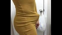 skin tight dress perfect ass