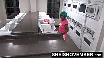 18745 Young Ebony Girl Msnovember Big Ass Anal In Public Laundromat By Rough Stranger preview