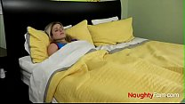 Pervert Son wakes up Mom - FREE Family Videos at NaughtyFam.com