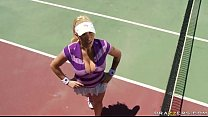 Free Brazzers videos tube - Candy Manson is a tennis superstar, but she can't seem to catch a b Image