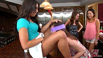 GIRLS GONE WILD - Sorority Sisters Put Pledger To The Test!
