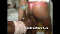 Brazilian 3-Some Orgy Party freakfest thumbnail