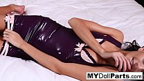 Dollface Kayla Jane Danger Shows Off Her Pussy