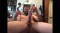 Nice hard dick stroking