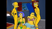 Simpsons hentai hard orgy