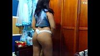 Busty latina dancing on webcam - annasexcam.com
