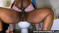Caught My Stepdaughter On The Toilet & Creanpie Her Pussy Without Her Knowing, Blackcreampie Inside Msnovember Roughcowgirl Bigdick Impregnating Hardsex Cowgirl On Sheisnovember صورة