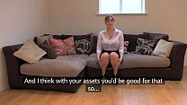 FakeAgentUK Amateur British girl with huge tits...