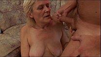 Oksana a grandmother blond fuck