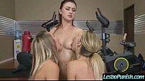 (blake&karlie&kenna) Sexy Lesbo Girls In Hard Play Using Sex Dildos clip-18