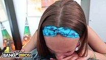 BANGBROS - Petite Teen Liza Rowe Takes a Big Dick For Cash Money