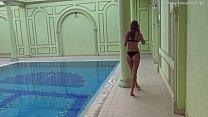 Poolside masturbation Tiffany Tatum Image