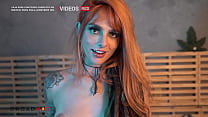 Dread redhead delighting and drooling on rolls - Dread Hot