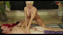 Lovely blonde Summer Brielle massage fuck image