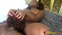 Nigerian Lesbians Shower and Oral Orgasm On WhatsApp Video