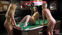 GIRLS GONE WILD - Teen Lesbians Letting Loose A...
