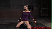 10715 Mona Wales facefucked while tied to sybian preview