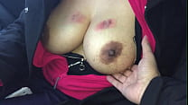 Playing with a BIG Pair of DESI Titties