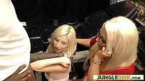 Gorgeous Alura Jenson & Stepdaughter Piper Perri Share BBC