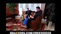 Image: Slutty MILF Jenna Presley is fucked hard infront of her husband