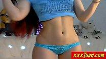 Sexy And Horny Teen Show Her Ass On Webcam ★ xxxTurn.com