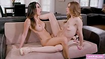 Lesbian milf rims her stepteens sexy ass