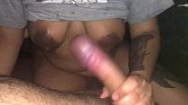 Luz Gets Horny Wet And Has Fun With Lou's Big Cock