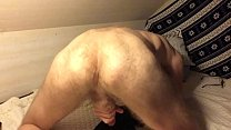 Sweet Gay Ass in Doggy Orgasm